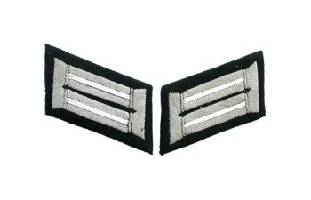 WH officer collar tabs - infantry
