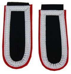 Waffen-SS senior NCO shoulder boards - artillery