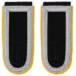 Waffen-SS senior NCO shoulder boards - cavalry, signal troops