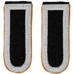 Waffen-SS senior NCO shoulder boards - military police