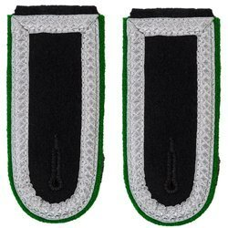 Waffen-SS senior NCO shoulder boards - mountain troops
