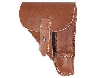 Walther PPK holster - brown - repro