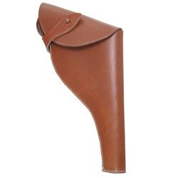 Webley Mk. IV holster - leather repro