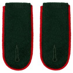 Wehrmacht Heer M36 enlisted shoulder boards - artillery