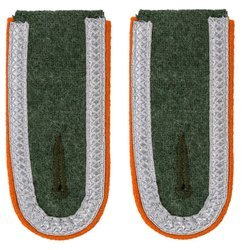 Wehrmacht Heer M40 Unteroffizier shoulder boards - military police