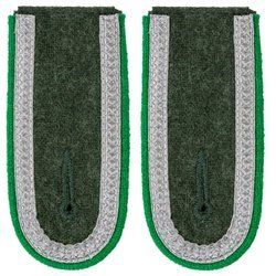 Wehrmacht Heer M40 Unteroffizier shoulder boards - mountain troops