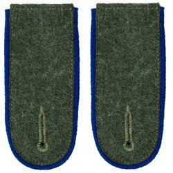 Wehrmacht Heer M40 enlisted shoulder boards - medical