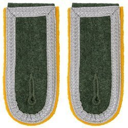 Wehrmacht Heer M40 senior NCO shoulder boards - cavalry, reconnaisance, signal troops