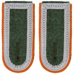 Wehrmacht Heer M40 senior NCO shoulder boards - military police