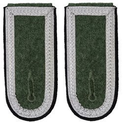 Wehrmacht Heer M40 senior NCO shoulder boards - pioneers