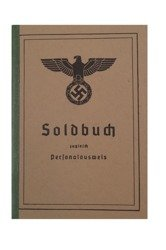 Wehrmacht Heer Soldbuch - repro, unfilled