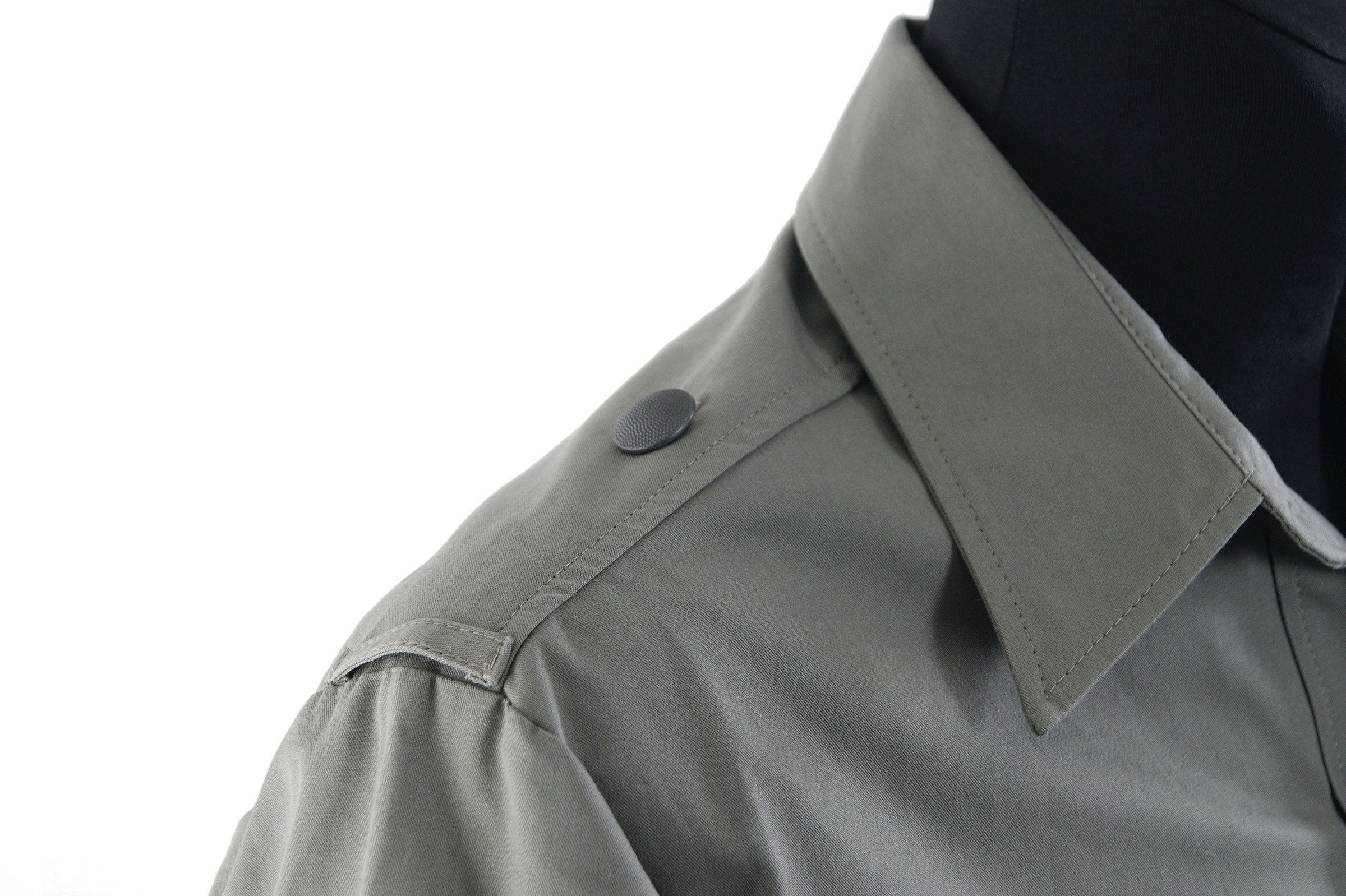 Hemd M43 - uniform shirt with buttons for shoulder boards - repro S ... d9bbd2e4fa