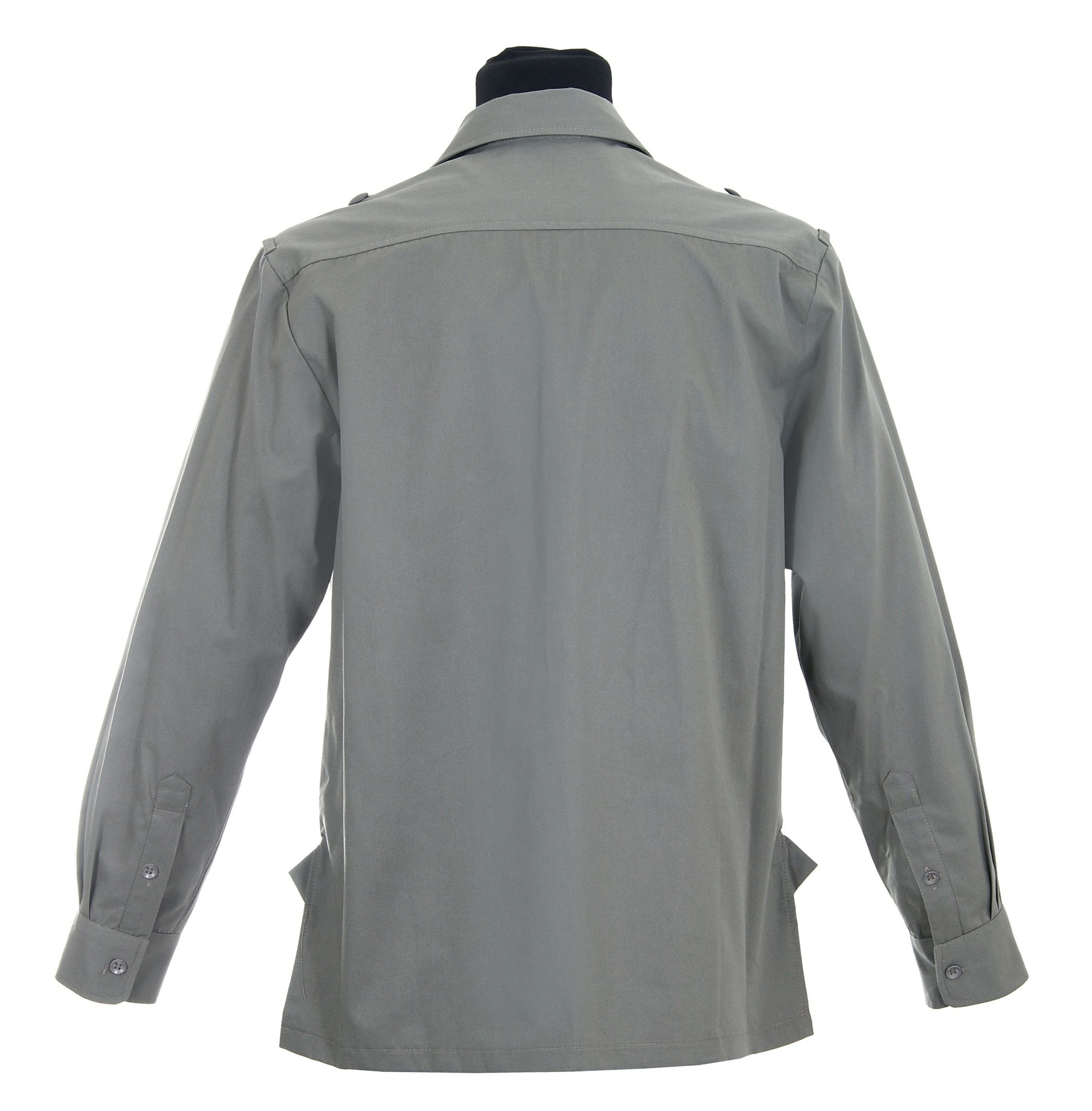 ... Hemd M43 - uniform shirt with buttons for shoulder boards - repro ... 183d77d1f6