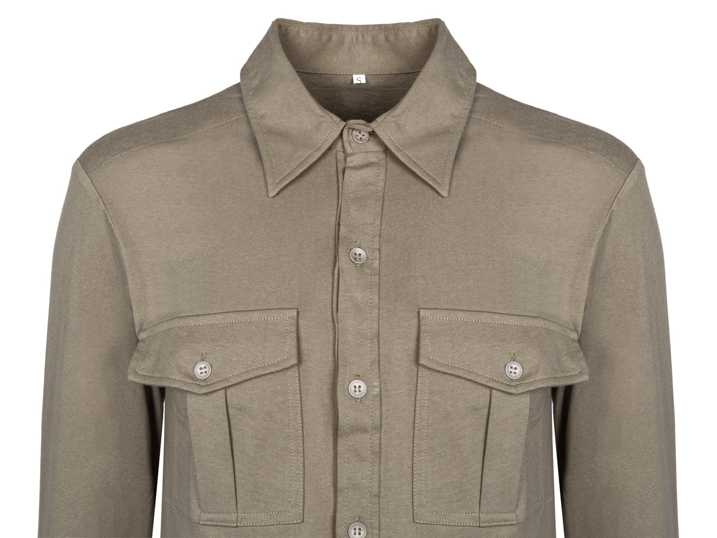 M41 Hemd - WH SS shirt with pockets - repro S   Germany  1933 ... 29c0fc0e4d