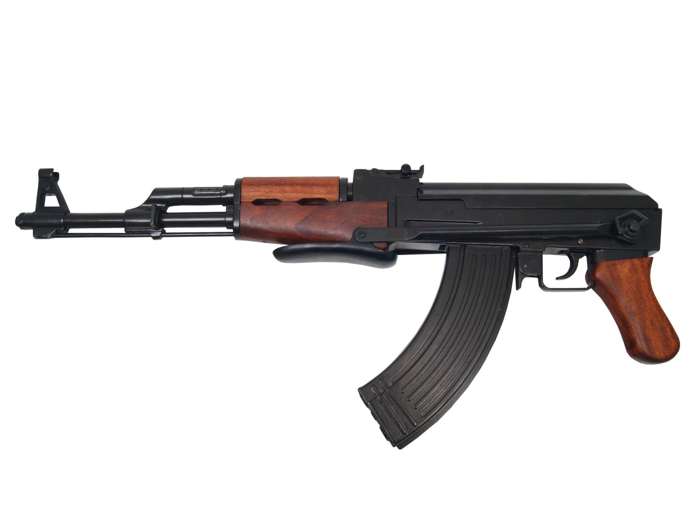 AK-47 assault rifle - folding stock - model gun