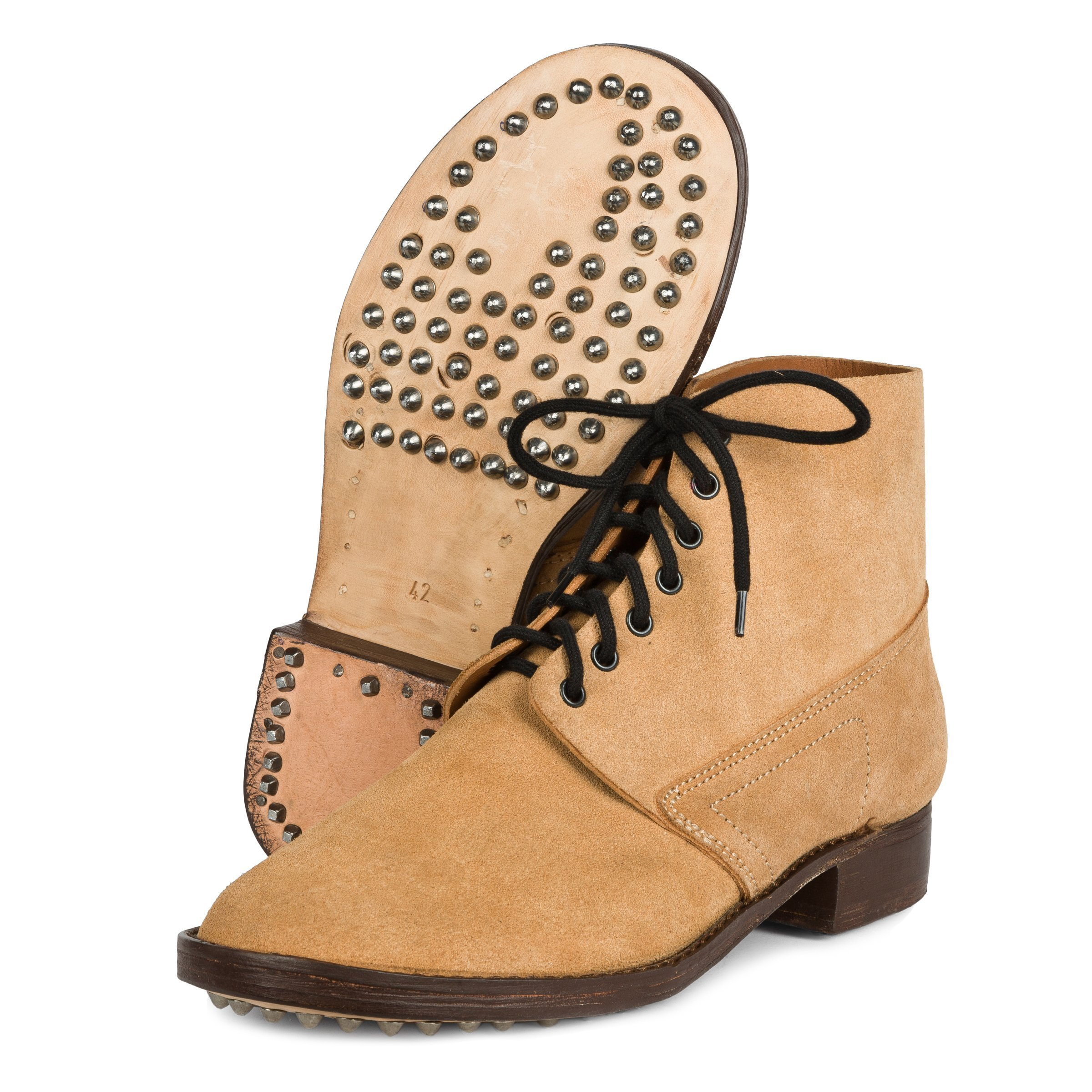 Brodequins Mle  1912 - French Army ankle boots- brown - repro