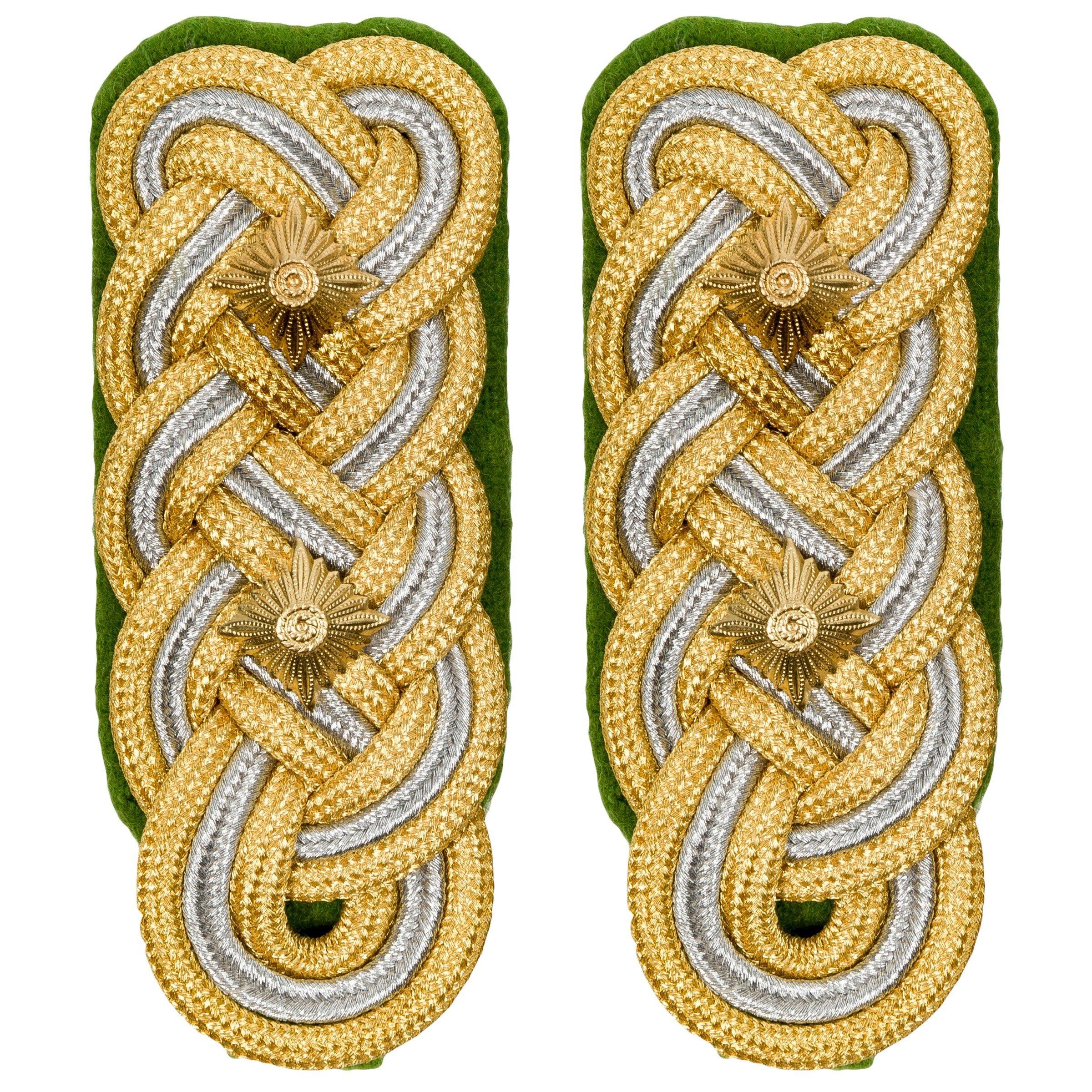 Reproduction German WW2 Police General shoulder boards