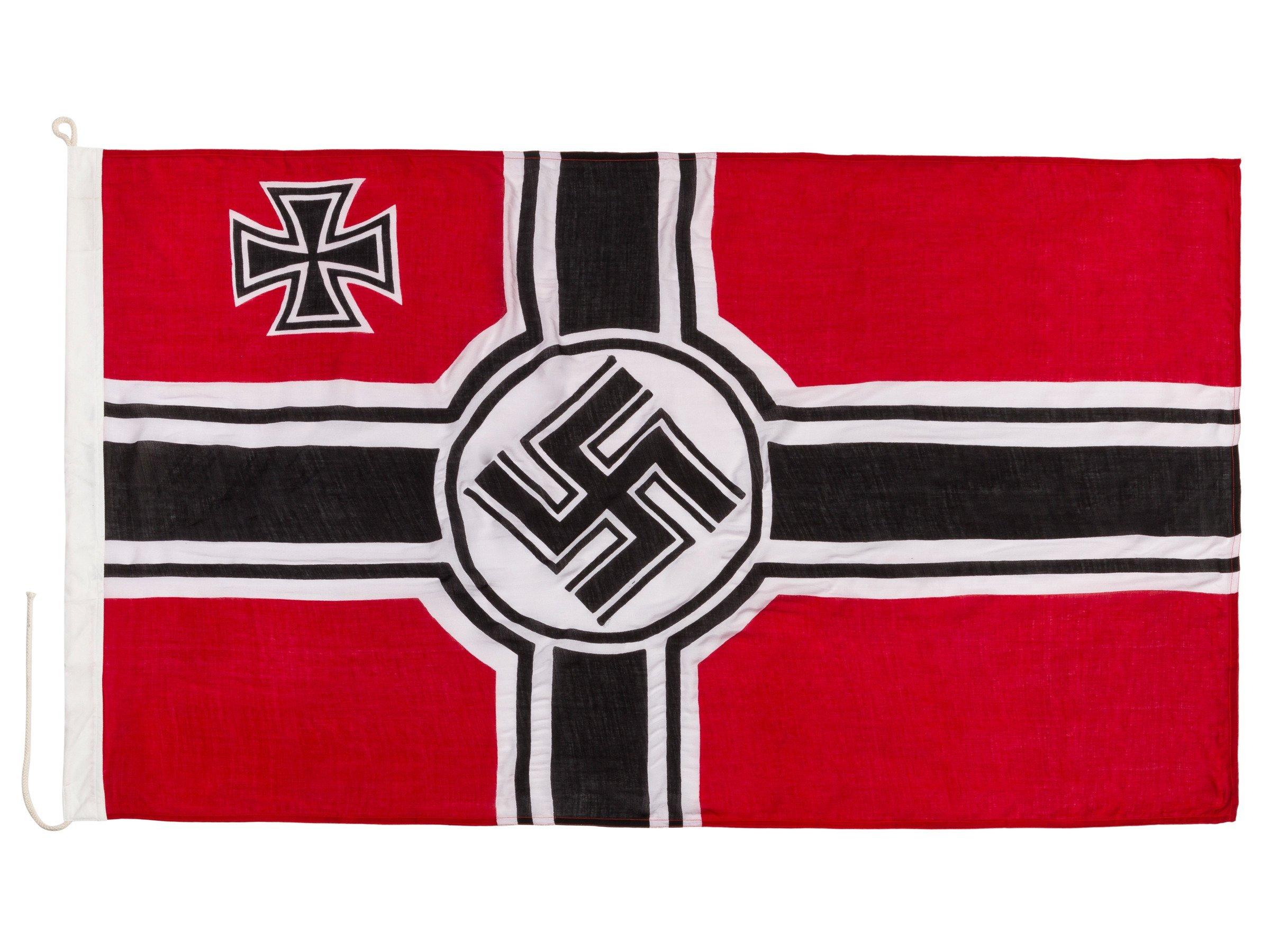 Reichskriegsflagge - WW2 German war flag - big - repro  Second grade