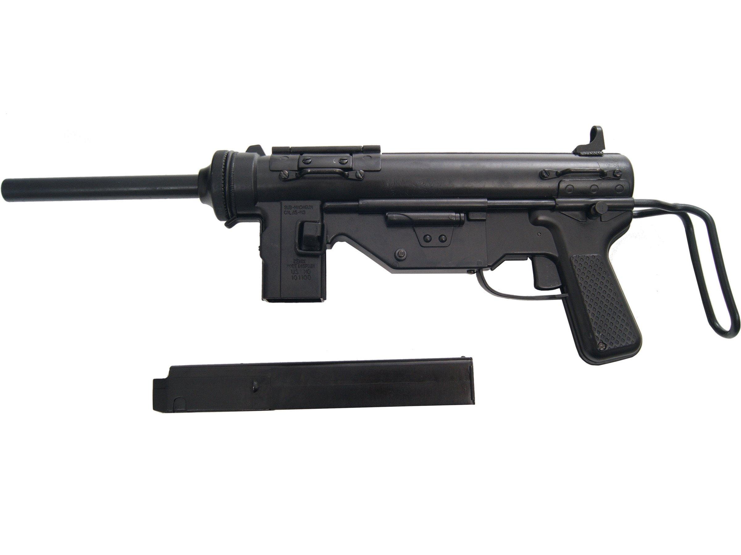 U  S  Submachine Gun, Cal   45, M3 - Grease Gun - model gun