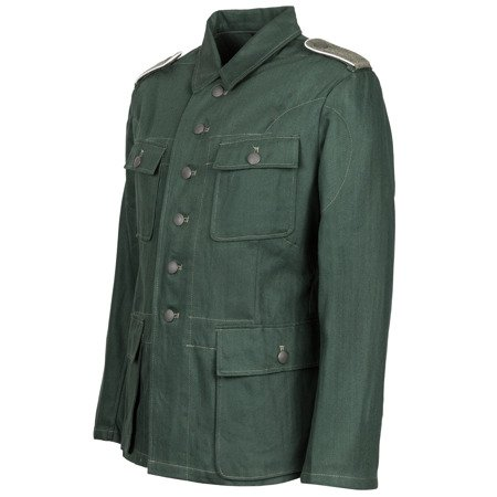 Drillichjacke M43 - cotton HBT drill tunic - repro
