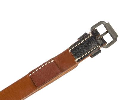 Equipment strap with button - black - repro
