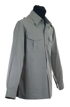 Hemd M43 - uniform shirt with buttons for shoulder boards - repro