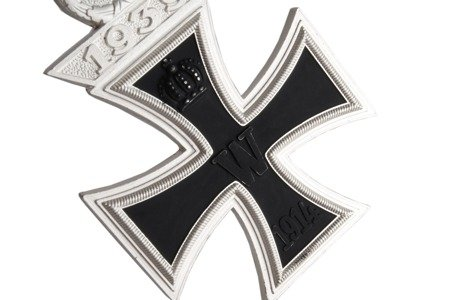 Iron Cross with 1939 clasp - repro