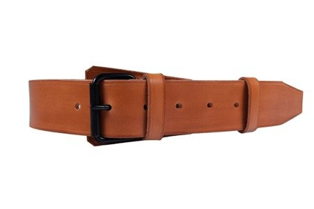 M1915 Feldkoppel - EM/NCO belt - brown leather - repro