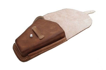 M1935 ViS holster - brown leather - repro