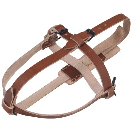 Medical field bottle carrying straps - repro - brown