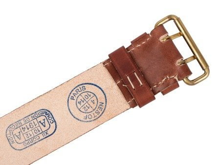 Mle. 1903/14 French Army belt - repro