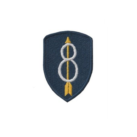 Patch of 8th Infantry Division - repro