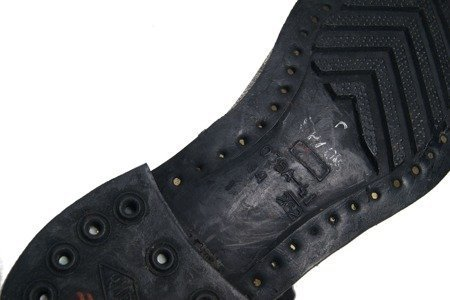 "Red Army ankle boots - ""Stalin's spruce"" sole - surplus"