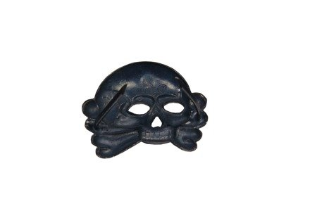 SS visor cap skull - old type - antique effect - repro