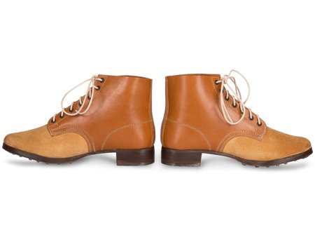 Schnurschuhe M43 - WH German ankle boots - light brown - repro