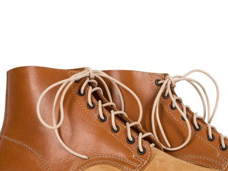 Schnurschuhe M43 - WW2 German ankle boots - light brown - repro