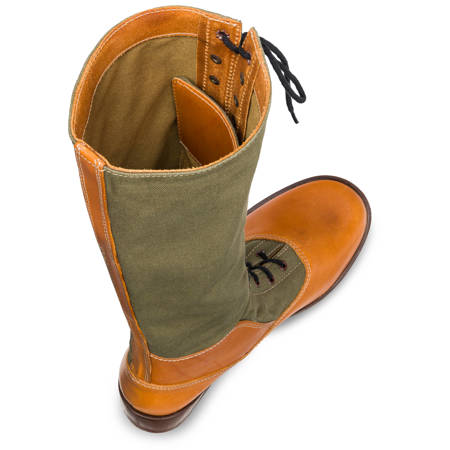Tropenstiefel - WW2 German tropical high boots - repro