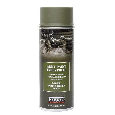 Farba Fosco Spray, Indian green WWII - 400 ml
